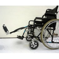 ELEVATING (LEFT) leg rest manual folding wheelchair